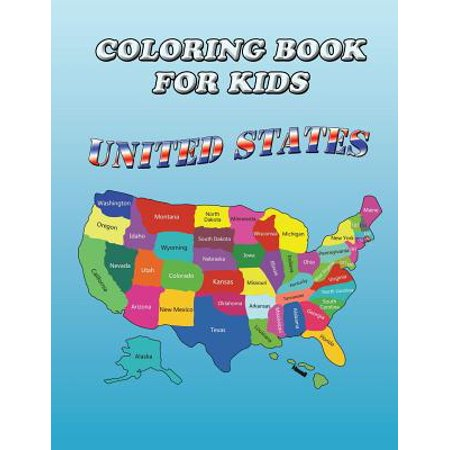 Coloring Book For Kids United States Kids Coloring Book