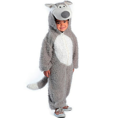 Halloween Toddler Big Bad Wolf Costume](Big Bad Wolf Mens Costume)