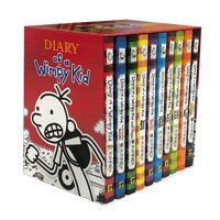 Diary of a Wimpy Kid Box of Books  1-10 Deals