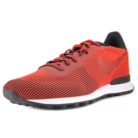 Nike Internationalist Round Toe Synthetic Sneakers Red For Women