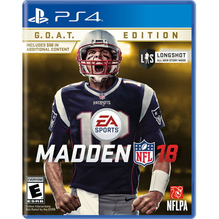 Madden Nfl 18 G O A T  Edition  Electronic Arts  Playstation 4  014633738087