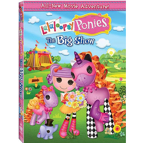 Lalaloopsy Ponies: The Big Show (DVD   Digital Copy) (Walmart Exclusive) (With INSTAWATCH) (With INSTAWATCH) (Full Frame)