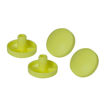 Drive Medical Replacement Tennis Ball Glide Pads, 2 Pairs