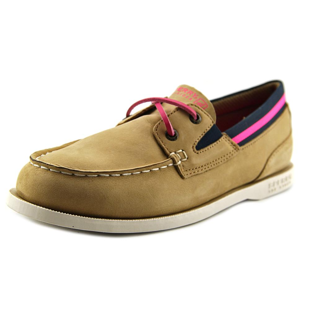 Sperry Top Sider AO Sport   Moc Toe Leather  Boat Shoe