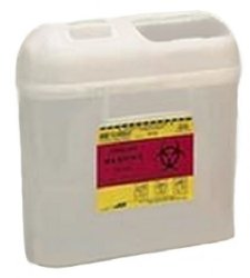 Container, Sharps Side Pearl 5.4Qt  (Units Per Case: 12)