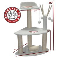 36-inch Cat Activity Center Scratcher By Majestic Pet Products