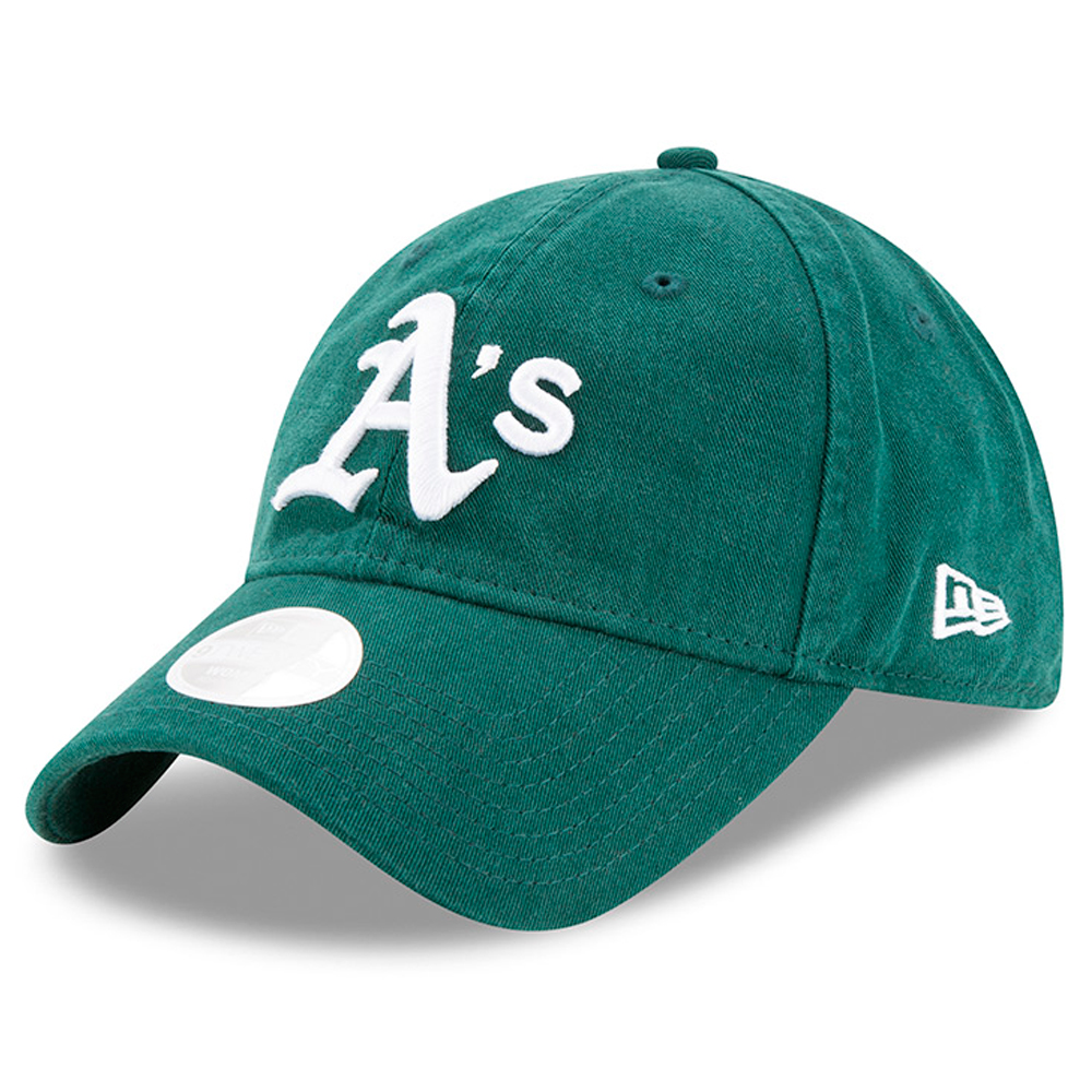 New Era Oakland Athletics Women's Green Preferred Pick 9TWENTY Adjustable Hat - OSFA