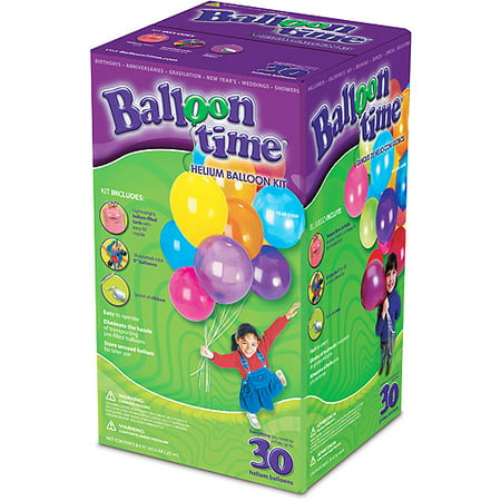 Balloon Time Helium Kit 30ct Walmartcom