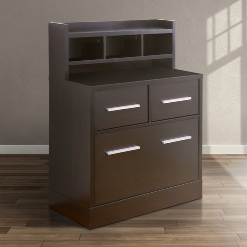 Hokku Designs 3-Drawer Filing Cabinet Workstation by Enitial Lab