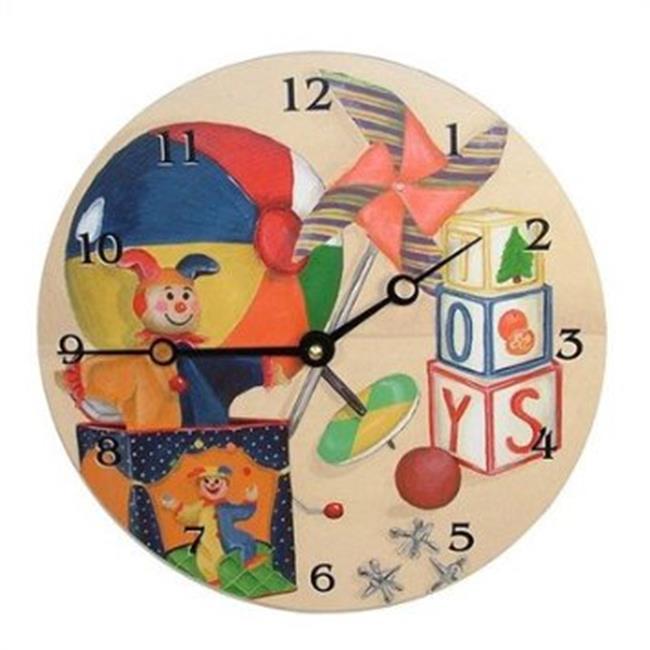 23063 - LR Toys 18 in. Round clock - image 1 de 1