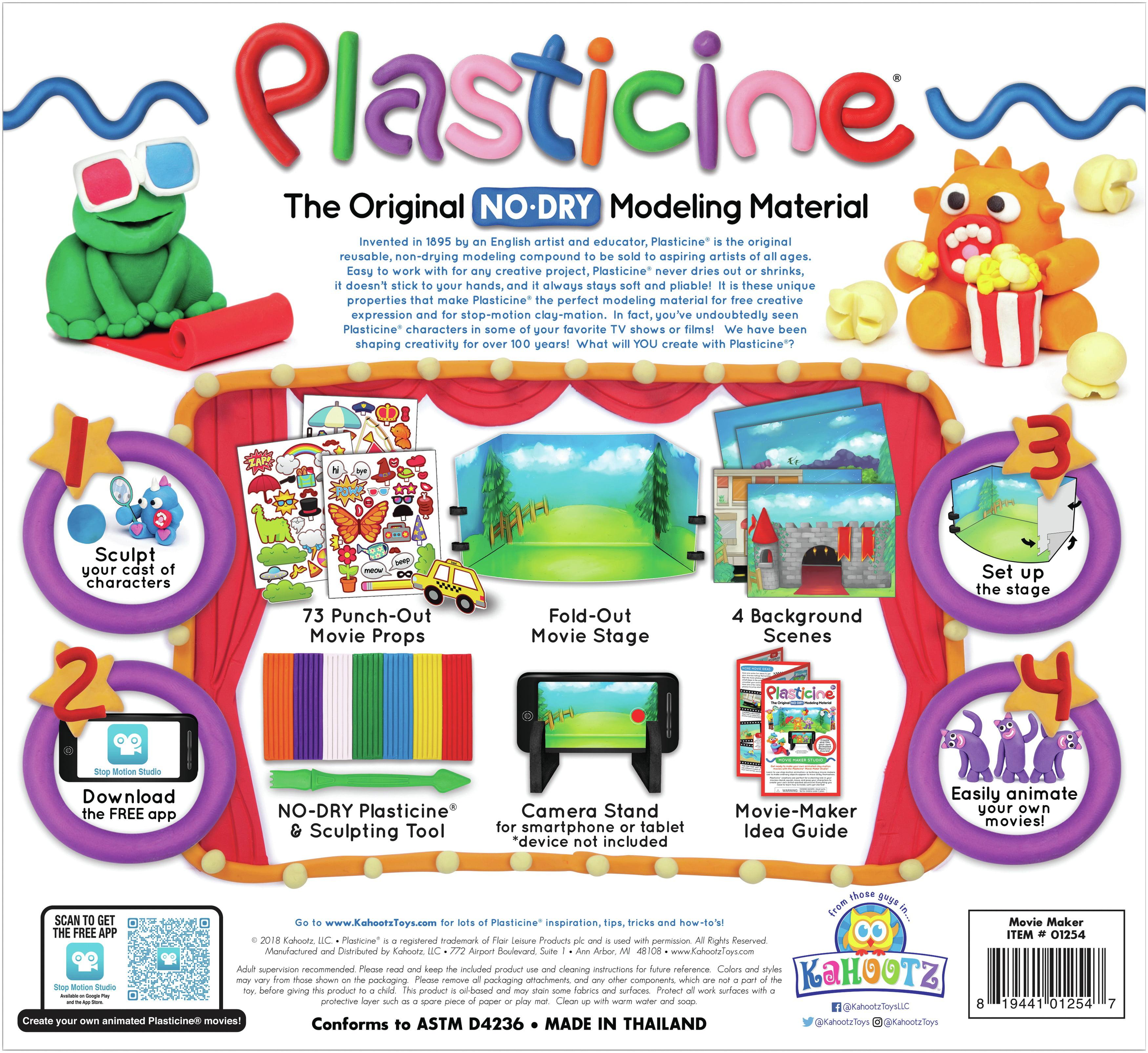 Plasticine Movie Maker Studio Kit-