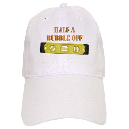 214c02d2a99e7 CafePress - Half A Bubble Off - Printed Adjustable Baseball Cap -  Walmart.com