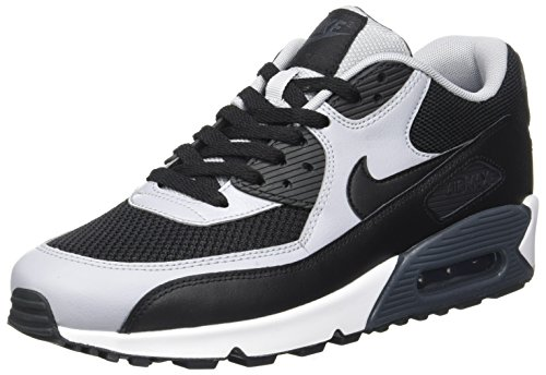 Nike Mens Air Max 90 Essential Running Shoes Black/Wolf Grey/Anthracite  537384,053 Size 7.5