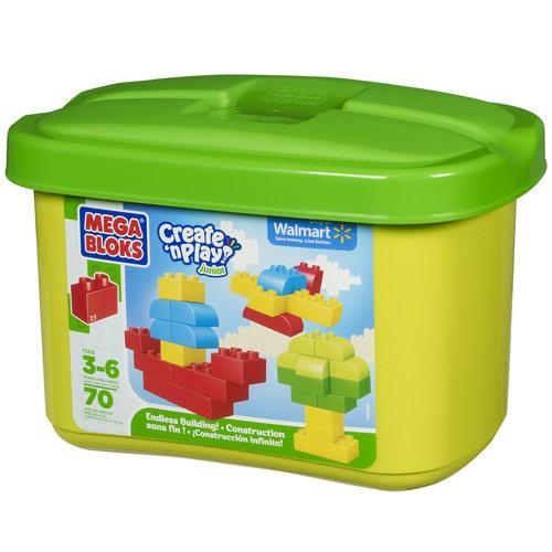 Mega Bloks Create 'n Play Junior 70-Piece Endless Building! Set