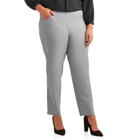 1fe48a90283 Just My Size - Women s Plus-Size 2-Pocket Pull-On Stretch Woven ...