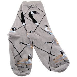 Canada Goose Gray Ladies Socks