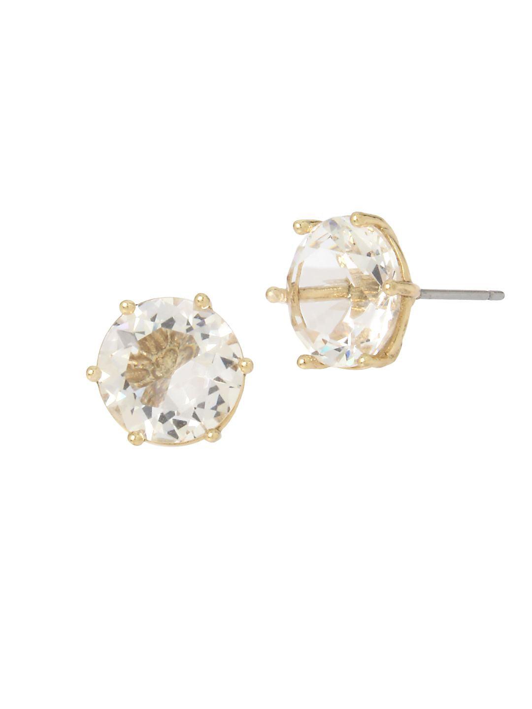 Basic Ears Crystal Stud Earrings