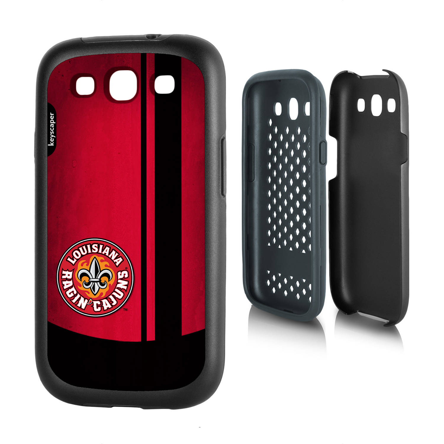 Louisiana Lafayette Ragin' Cajuns Galaxy S3 Rugged Case