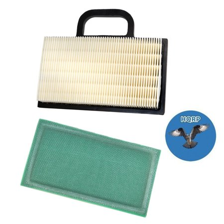 HQRP Air Filter Cartridge w/ Pre-cleaner for Yard-Man / Yard Machines Lawn Garden Tractors Riding Mowers, 499486S 273638S Replacement + HQRP (Yard Machine Riding Lawn Mower Repair Manual)