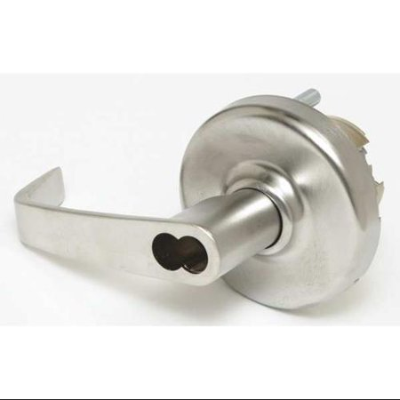 CORBIN CL3381 NZD 626 M08 Extra HD Lever Lockset, Keyed/Plate, SFIC
