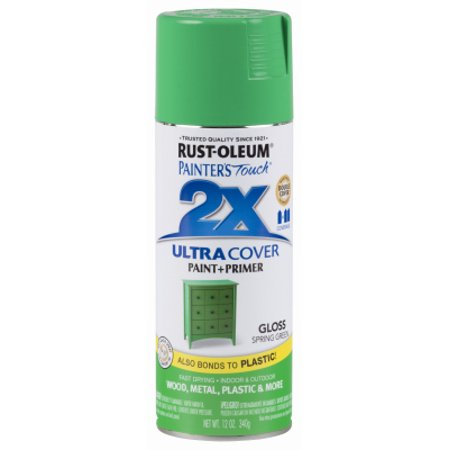 Gls Polyurethane - Rust-oleum 6 Packs PT2X 12OZ GRN GLS Paint
