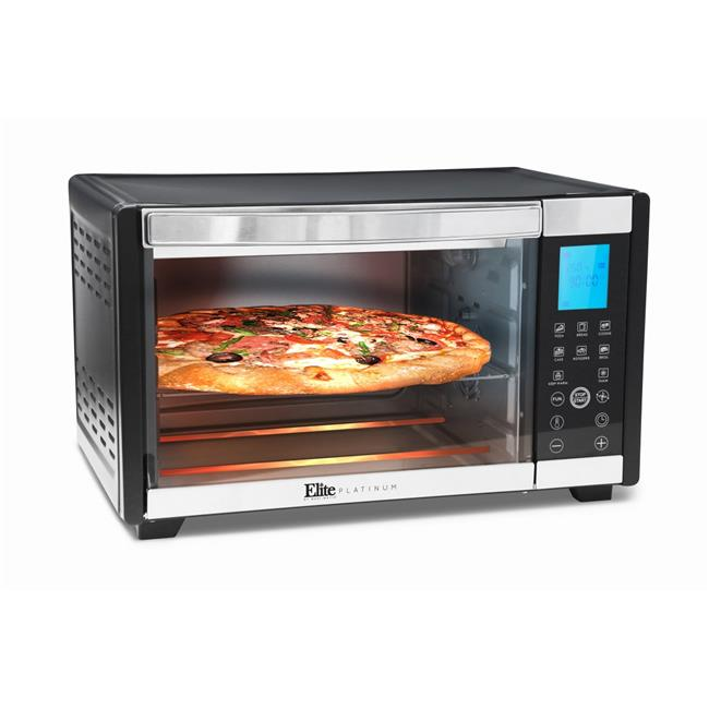 Maximatic 6-Slice Convection Toast Oven, Black & Stainless