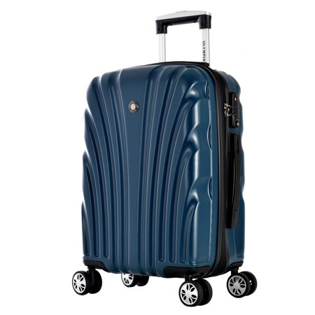 Olympia  Vortex 24-inch Mid-size Hardside Spinner Upright (Best Mid Sized Suitcase)