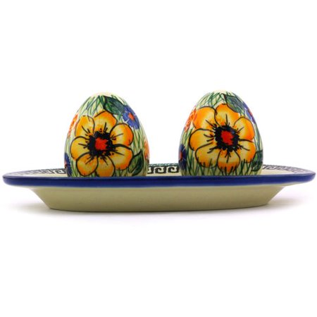 Polmedia Polish Pottery Salt and Pepper Set