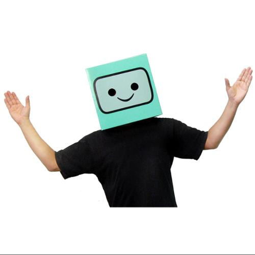 Image of Adventure Time Beemo Costume Box Head