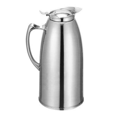 33 oz Stainless Steel Hot Drink Coffee Server Carafe Vacuum Server Pourer Pot