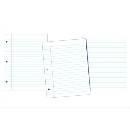 School Smart 085285 Smart Sulphite Paper Bright White, Pack 200
