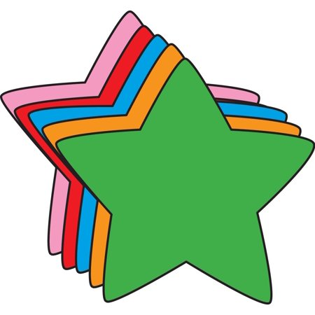 - Large Assorted Cut-Out - Star