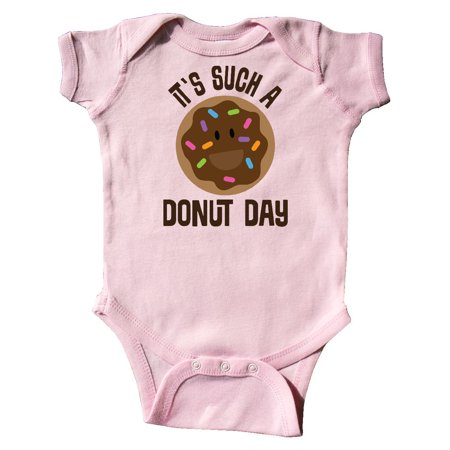 821197e80 It's Such A Donut Day Chocolate Lover Infant Creeper - Walmart.com