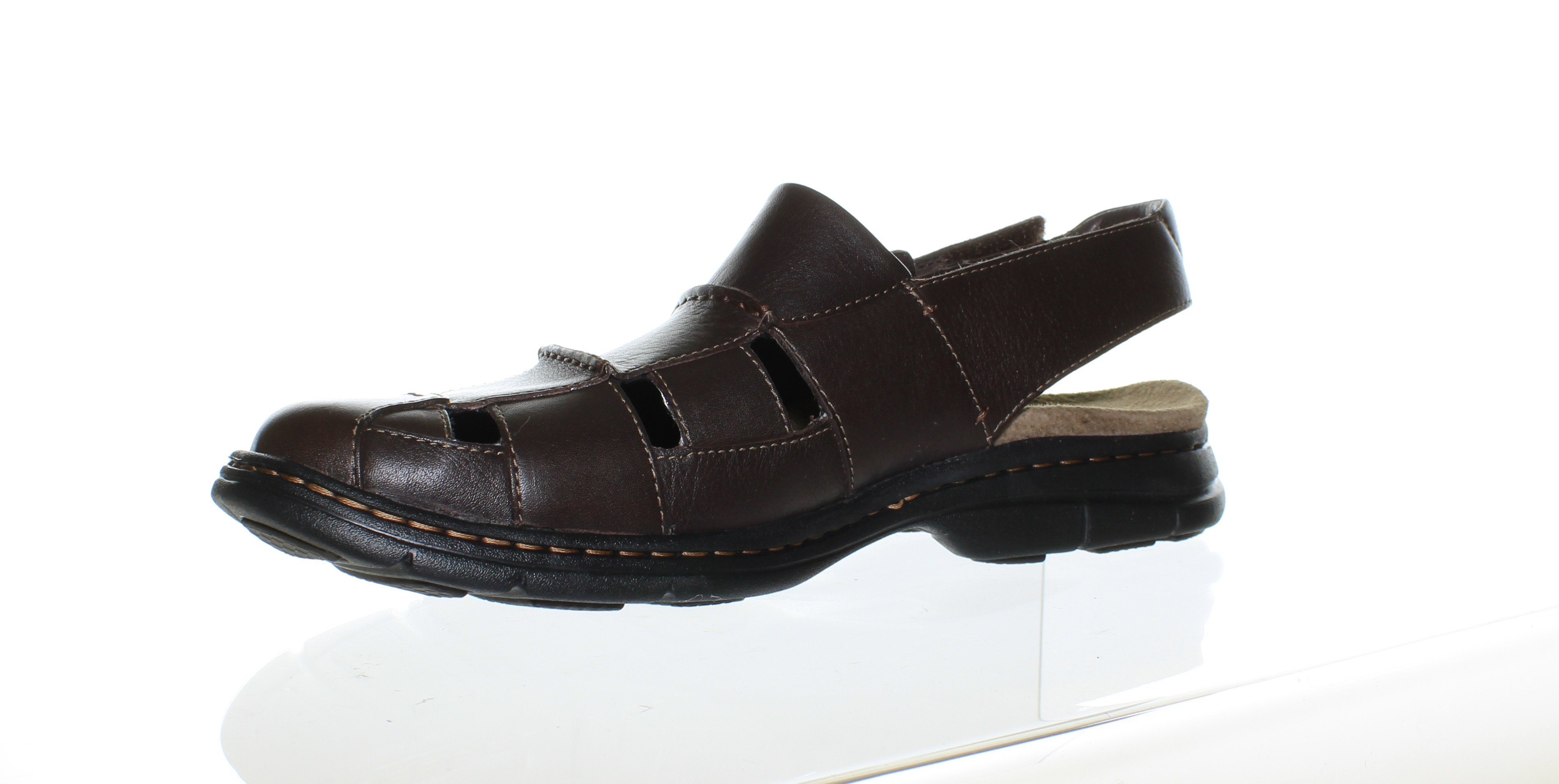 fc89db99604c Dunham - Dunham Mens Monterey Brown Fisherman Sandals Size 13 - Walmart.com