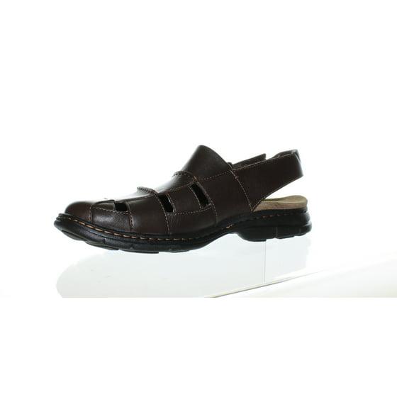 7bc7073d7cec Dunham Mens Monterey Brown Fisherman Sandals Size 13 New Dunham Mens  Monterey Brown Fisherman Sandals Size 13