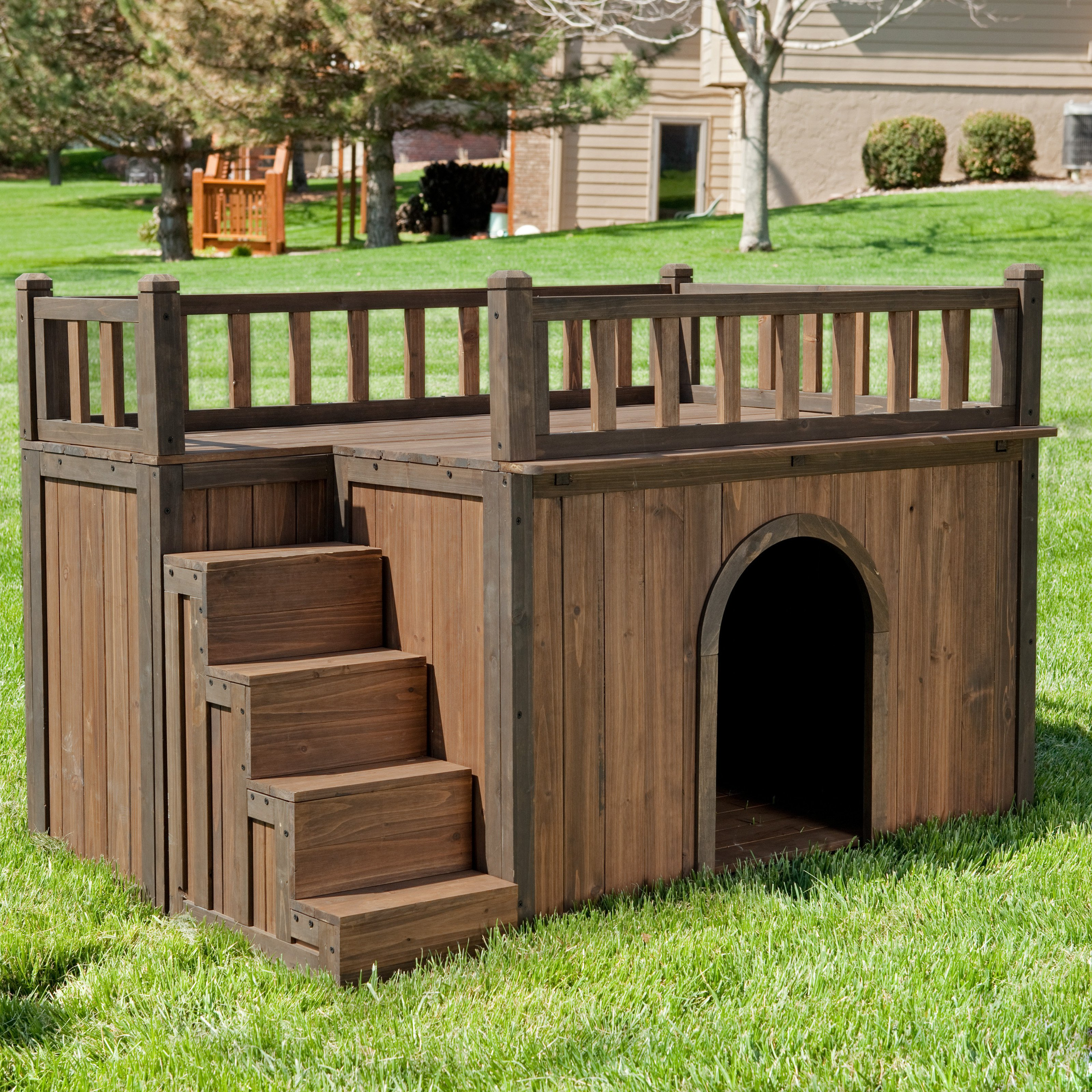 Boomer & George Stair Case Dog House