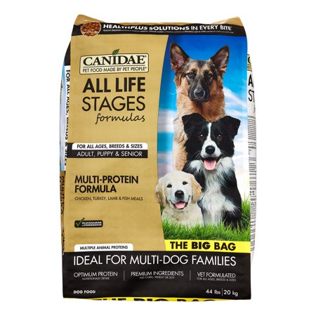 Canidae Life Stages Chicken, Turkey, Lamb & Fish Dry Dog Food, 44