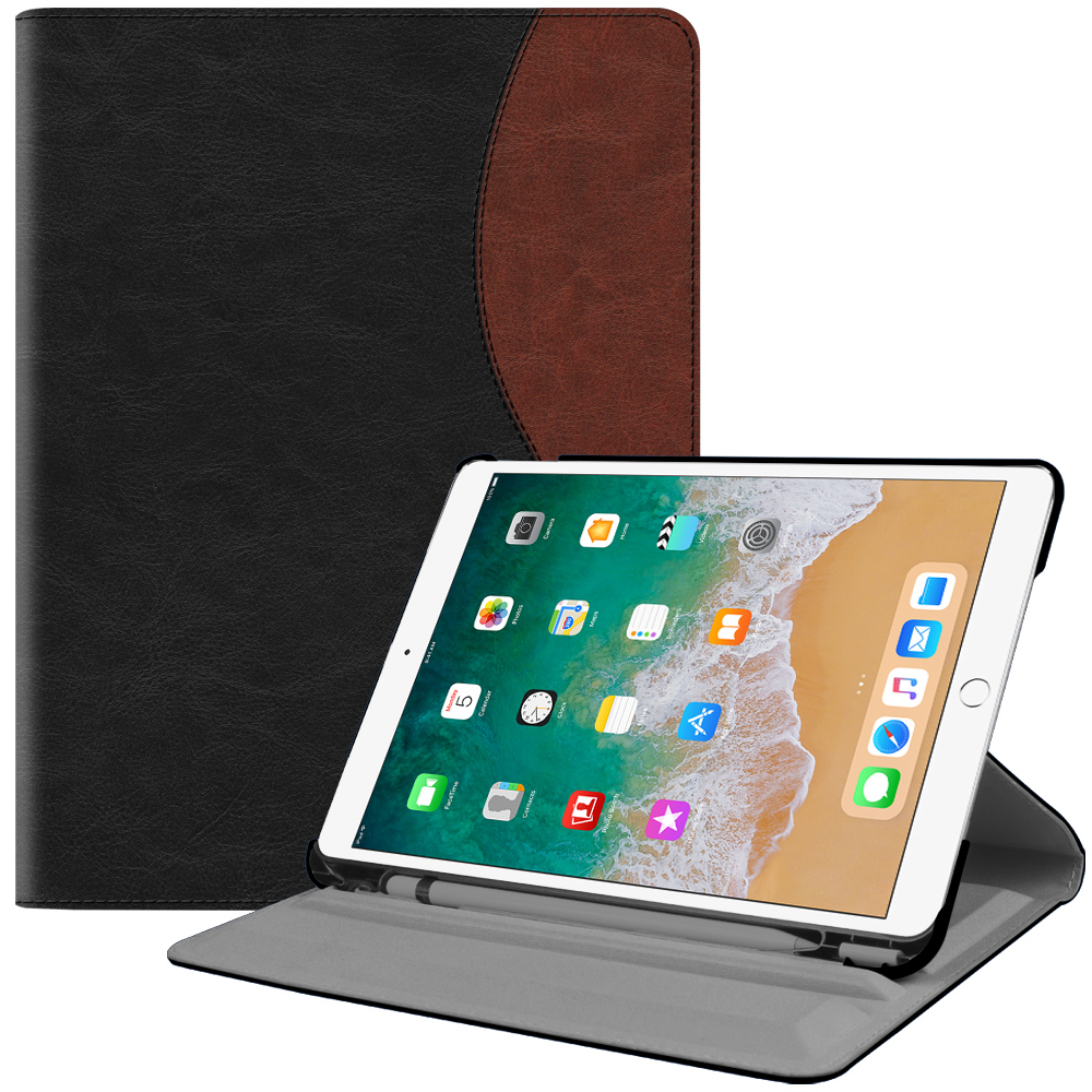Fintie iPad Pro 10.5 Rotating Case - [Built-in Apple Pencil Holder] 360 Degree Rotating Stand Cover, Dual Color