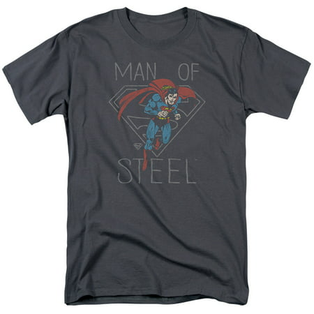 DC/HARDENED HEART-S/S ADULT 18/1-CHARCOAL-3X