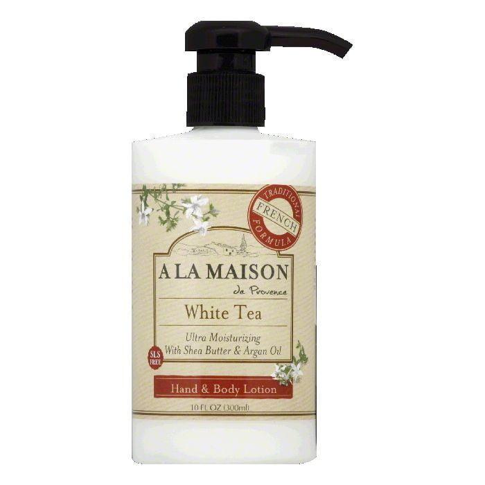 A La Maison White Tea Hand & Body Lotion, 10 FO