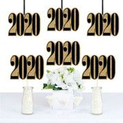 Gold Tassel Worth The Hassle - 2020 Graduation Decorations DIY Party Essentials - Set of 20