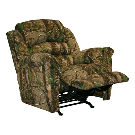 Catnapper cloud nine mossy oak camouflage chaise rocker for Catnapper cloud nine chaise recliner