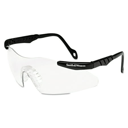 Smith & Wesson Magnum 3G Safety Eyewear, Black Frame, Clear