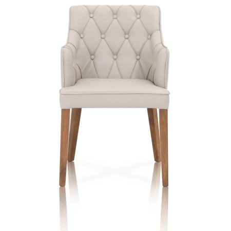 Star International Furniture Palermo Upholstered Tufted Dining Side Chair