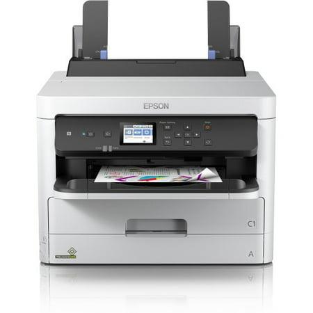 1200 Inkjet - Epson WorkForce Pro WF-C5210 Inkjet Printer - Color - 4800 x 1200 dpi Print - Plain Paper Print - Desktop - 34 ppm Mono / 34 ppm Color Print - Photo, Letter, Half-letter, A4, Executive, A6, Universal,