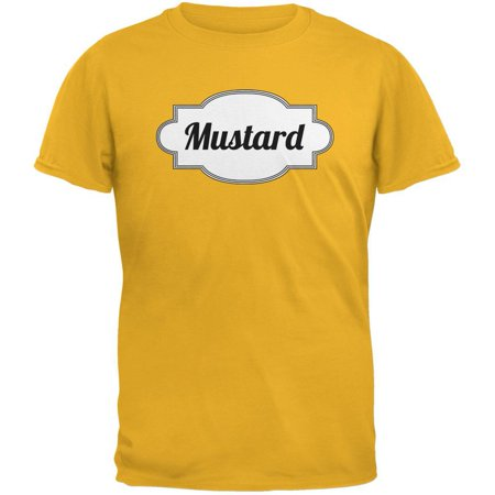 Halloween Mustard Costume Gold Adult (French's Mustard Halloween Costume)