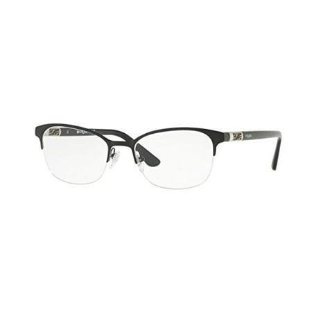 Vogue VO4067 Eyeglass Frames 352-53 - Black (Vogue Eyeglasses Online)