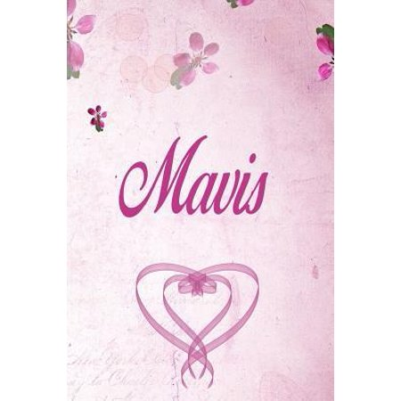 Mavis : Personalized Name Notebook/Journal Gift For Women & Girls 100 Pages (Pink Floral Design) for School, Writing Poetry, Diary to Write in, Gratitude Writing, Daily Journal or a Dream Journal. ()