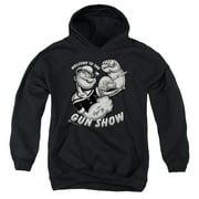 Popeye Gun Show Big Boys Pullover Hoodie