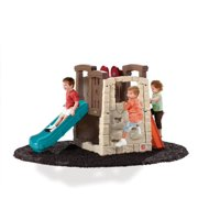 Step2 Naturally Playful Woodland Climber - Kids Durable Plastic Slides and Climbers, Multicolor